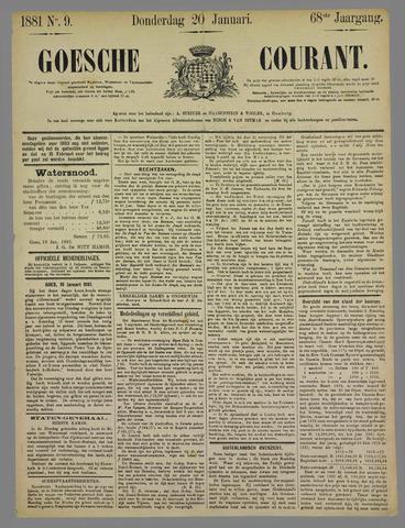 Goessche Courant 1881-01-20