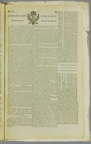 Middelburgsche Courant 1809-07-20