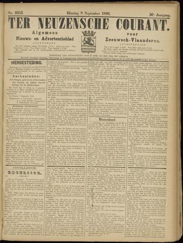 Ter Neuzensche Courant. Algemeen Nieuws- en Advertentieblad voor Zeeuwsch-Vlaanderen / Neuzensche Courant ... (idem) / (Algemeen) nieuws en advertentieblad voor Zeeuwsch-Vlaanderen 1896-09-08
