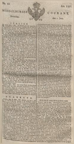 Middelburgsche Courant 1771-06-01
