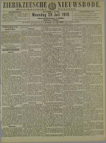 Zierikzeesche Nieuwsbode 1910-07-25