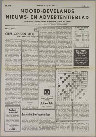 Noord-Bevelands Nieuws- en advertentieblad 1976-08-26