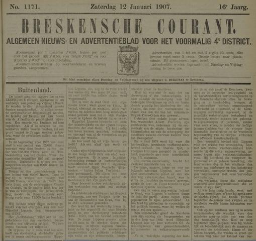 Breskensche Courant 1907-01-12