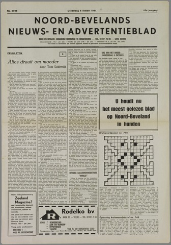 Noord-Bevelands Nieuws- en advertentieblad 1981-10-08