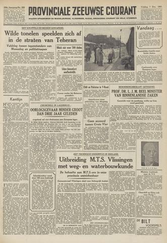 Provinciale Zeeuwse Courant 1951-12-07