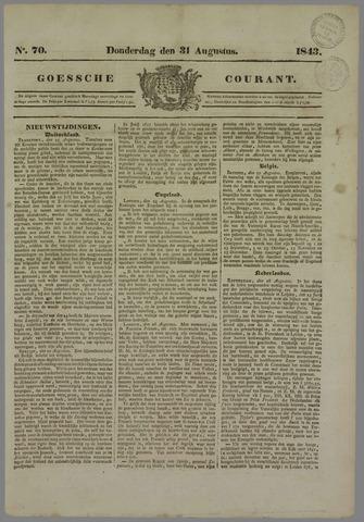 Goessche Courant 1843-08-31