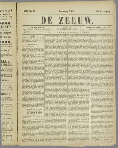 De Zeeuw. Christelijk-historisch nieuwsblad voor Zeeland 1890-05-08