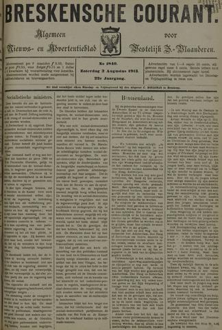 Breskensche Courant 1913-08-02