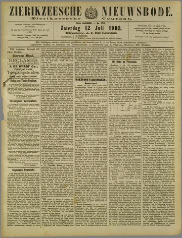 Zierikzeesche Nieuwsbode 1902-07-12