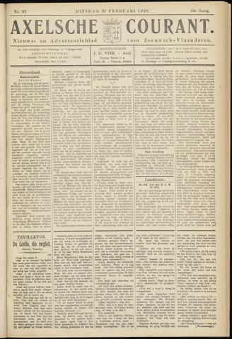 Axelsche Courant 1928-02-21