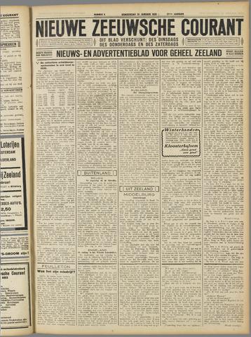Nieuwe Zeeuwsche Courant 1931-01-15