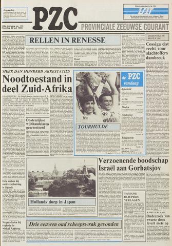 Provinciale Zeeuwse Courant 1985-07-22