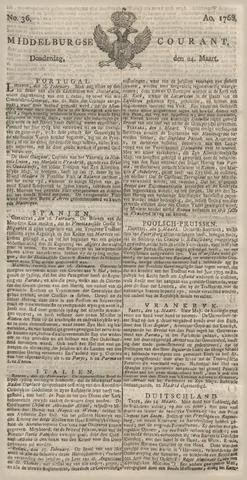 Middelburgsche Courant 1768-03-24