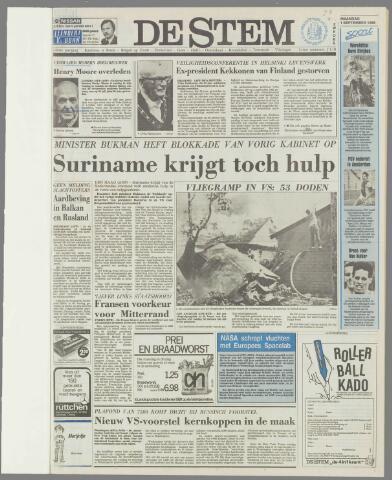 de Stem 1986-09-01