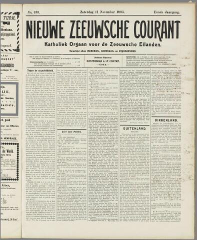 Nieuwe Zeeuwsche Courant 1905-11-11