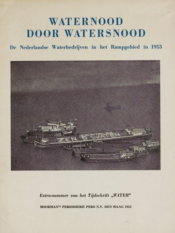 Watersnood documentatie 1953 - brochures 1954-01-06