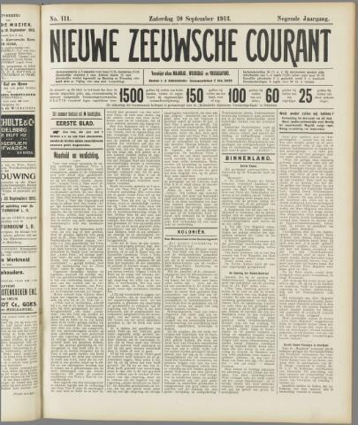 Nieuwe Zeeuwsche Courant 1913-09-20