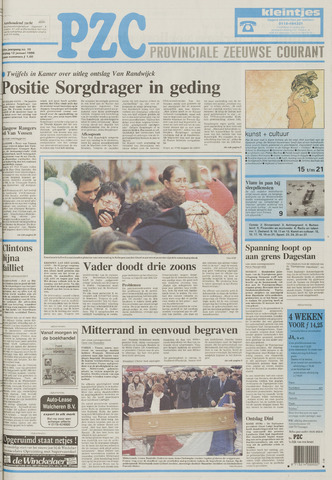Provinciale Zeeuwse Courant 1996-01-12