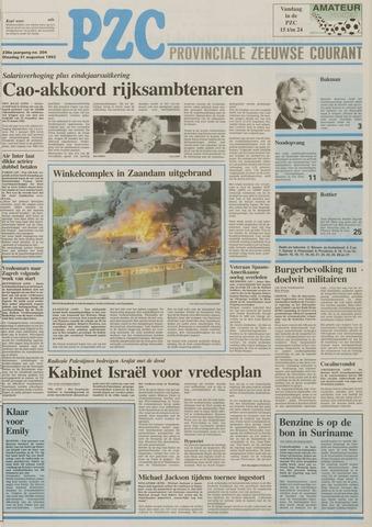 Provinciale Zeeuwse Courant 1993-08-31