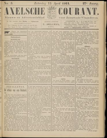 Axelsche Courant 1911-04-15