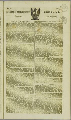 Middelburgsche Courant 1825-01-27