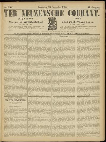 Ter Neuzensche Courant. Algemeen Nieuws- en Advertentieblad voor Zeeuwsch-Vlaanderen / Neuzensche Courant ... (idem) / (Algemeen) nieuws en advertentieblad voor Zeeuwsch-Vlaanderen 1895-09-26