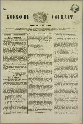 Goessche Courant 1851-06-19