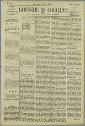 Goessche Courant 1919-05-17