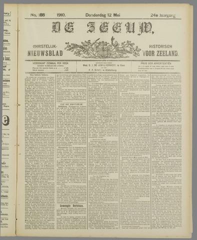 De Zeeuw. Christelijk-historisch nieuwsblad voor Zeeland 1910-05-12
