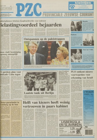Provinciale Zeeuwse Courant 1994-08-23