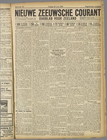 Nieuwe Zeeuwsche Courant 1923-06-29
