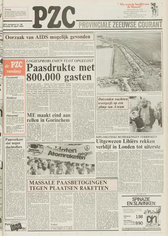 Provinciale Zeeuwse Courant 1984-04-24