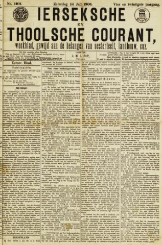 Ierseksche en Thoolsche Courant 1906-07-14