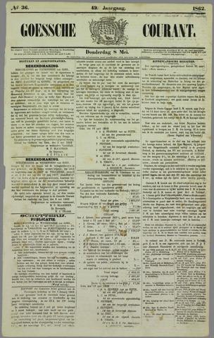 Goessche Courant 1862-05-08