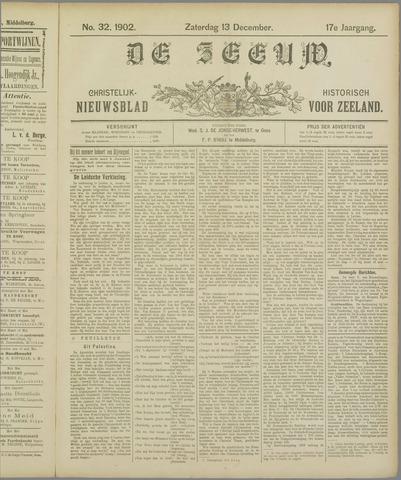 De Zeeuw. Christelijk-historisch nieuwsblad voor Zeeland 1902-12-13