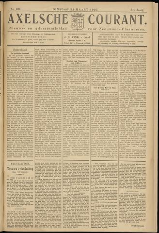 Axelsche Courant 1936-03-24