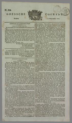 Goessche Courant 1833-09-13