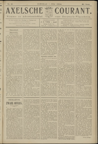 Axelsche Courant 1924-07-01