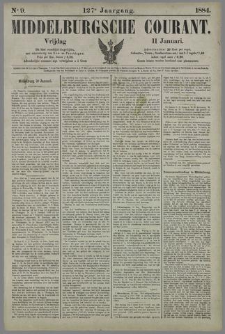 Middelburgsche Courant 1884-01-11