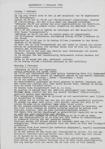 Watersnood documentatie 1953 - diversen 1986