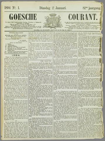 Goessche Courant 1894
