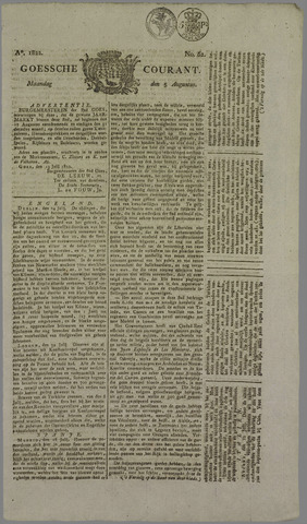 Goessche Courant 1822-08-05