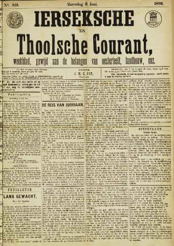 Ierseksche en Thoolsche Courant 1893-06-03