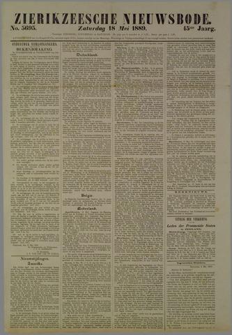 Zierikzeesche Nieuwsbode 1889-05-18