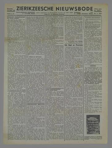 Zierikzeesche Nieuwsbode 1944-02-12