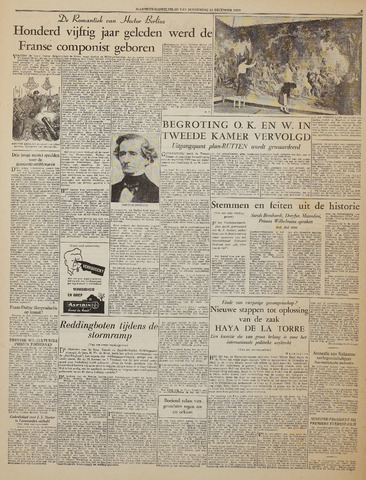 Watersnood documentatie 1953 - kranten 1953-12-10