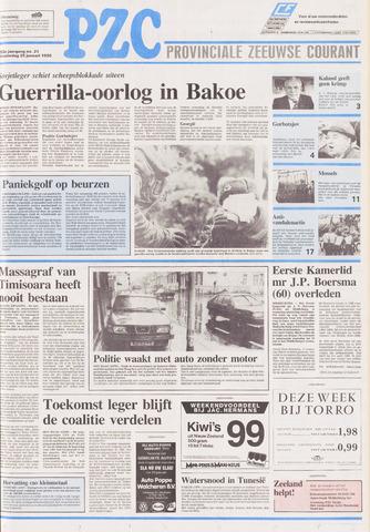 Provinciale Zeeuwse Courant 1990-01-25