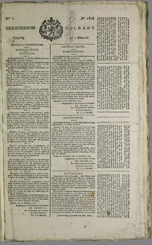 Zierikzeesche Courant 1828