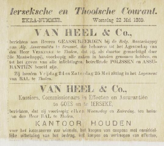 Ierseksche en Thoolsche Courant 1889-05-22