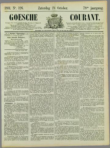 Goessche Courant 1891-10-24